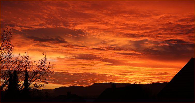Sonnenaufgang...