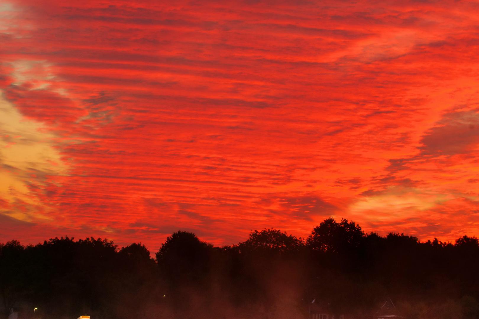 Sonnenaufgang extrem