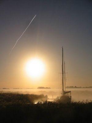 Sonnenaufgang Friesland/NL