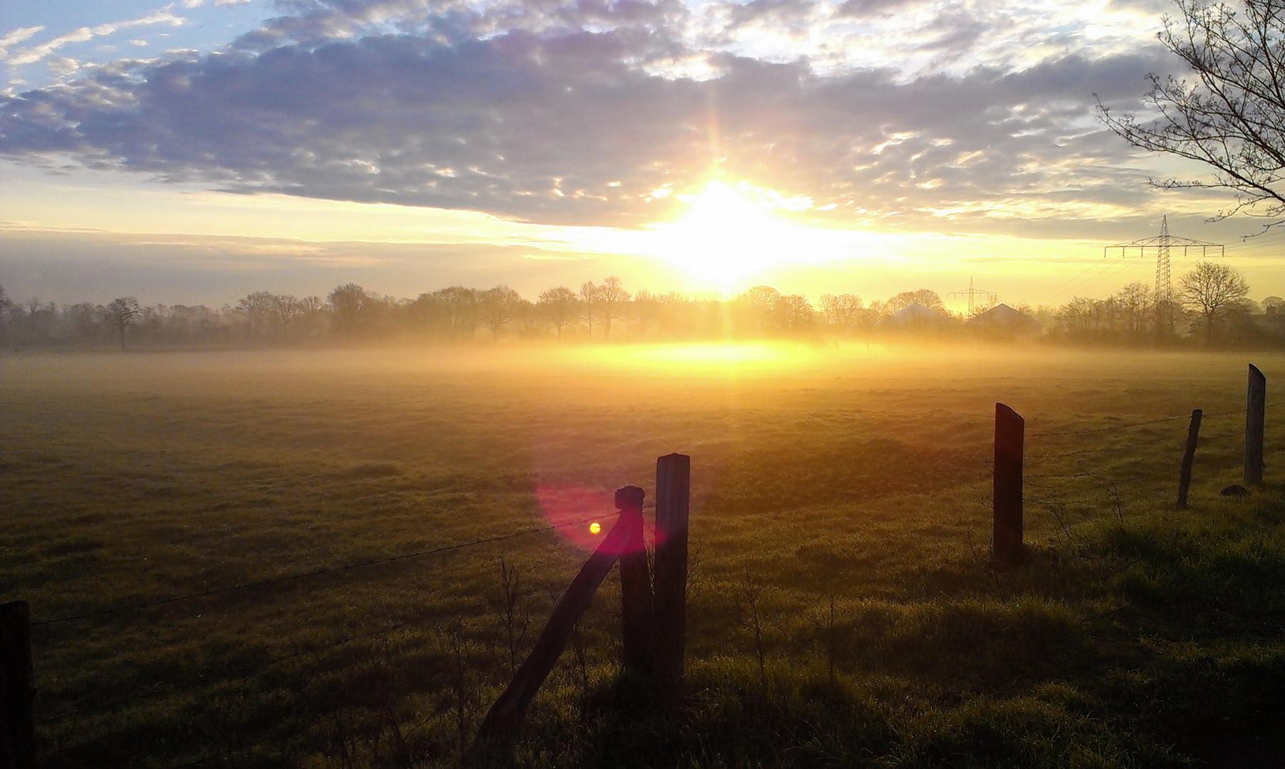 Sonnenaufgang Heist