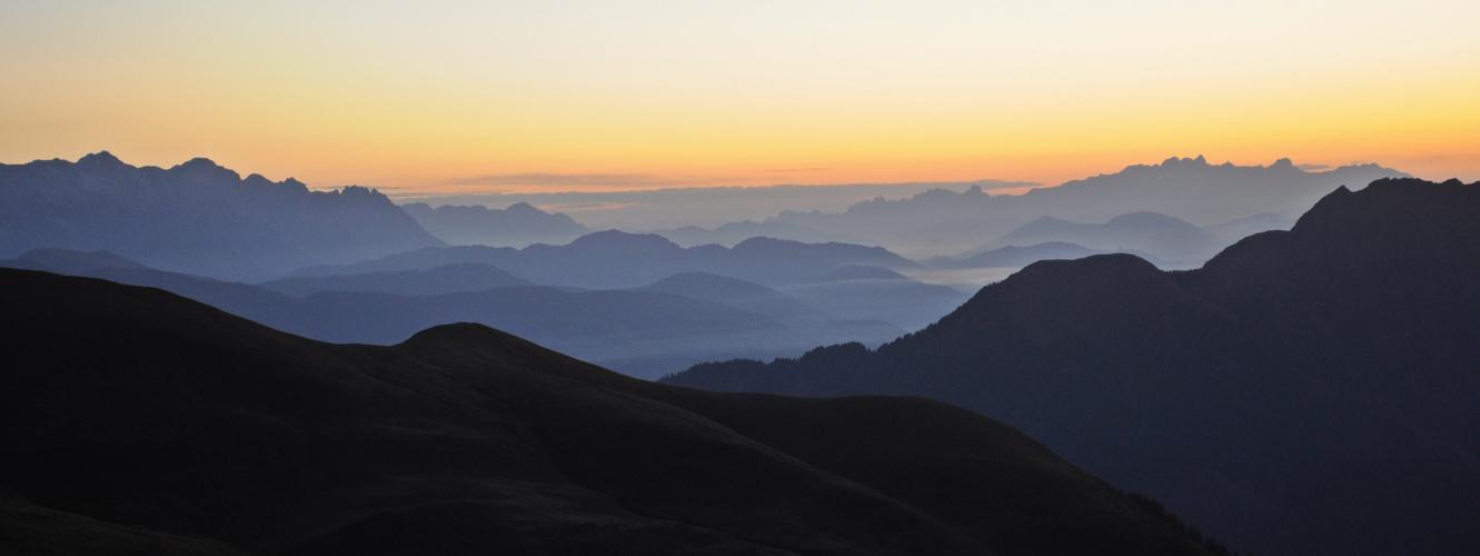 Sonnenaufgang Hohe Tauern