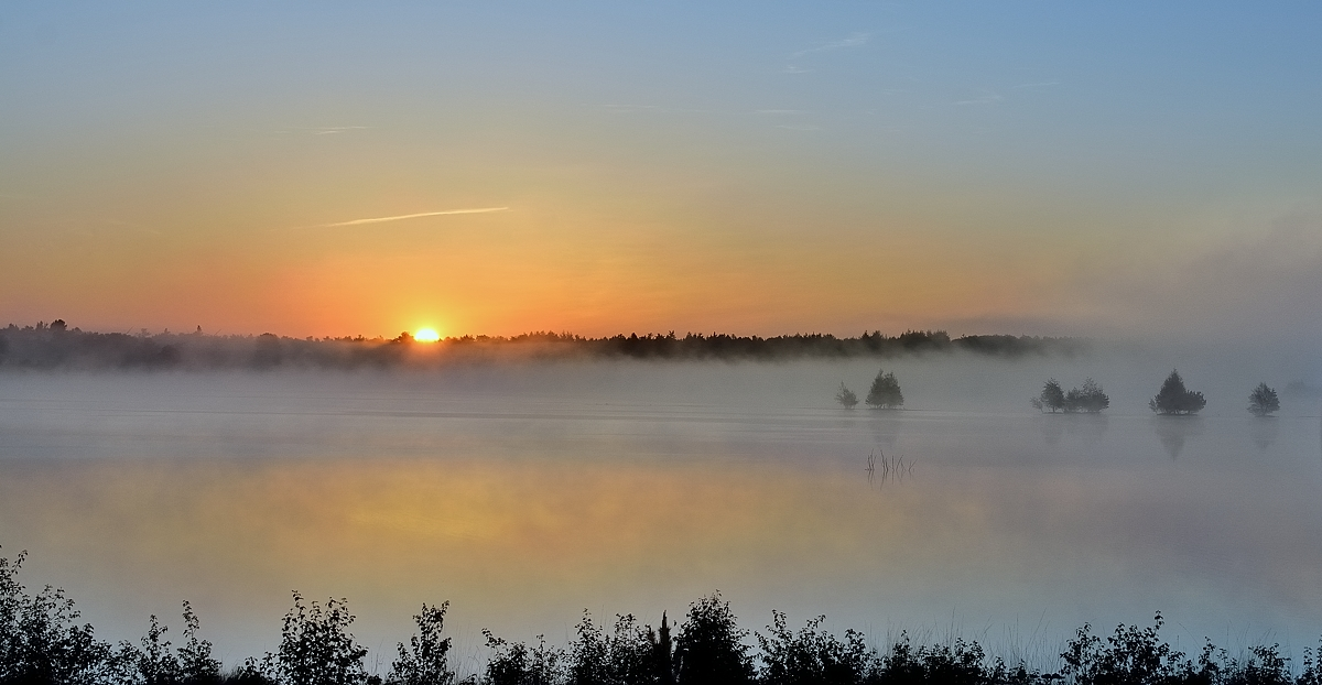 Sonnenaufgang im Bauernmoor