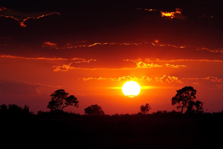 Sonnenaufgang im Delta