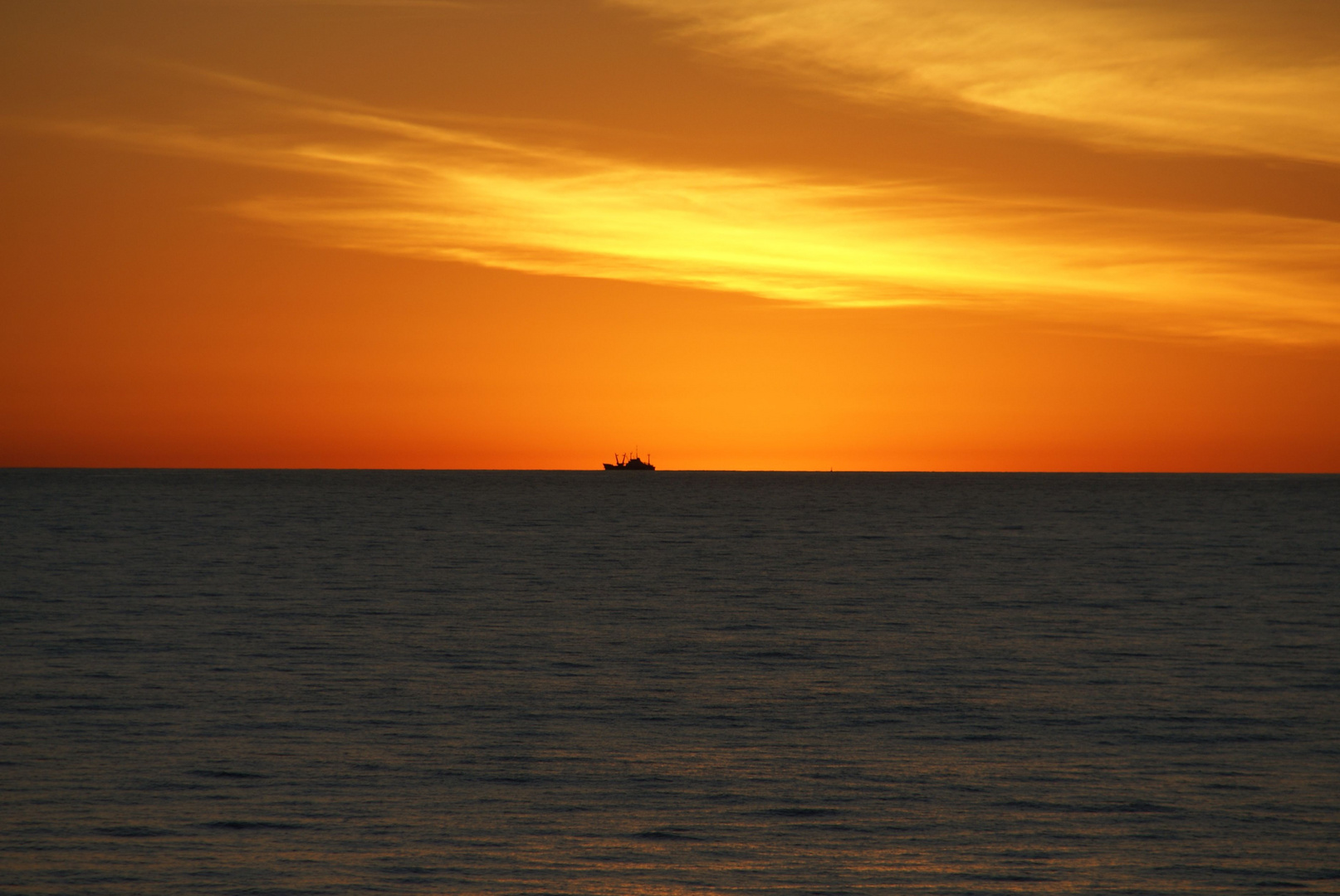 Sonnenaufgang im Delta des Rio de la Plata in Buenos Aires
