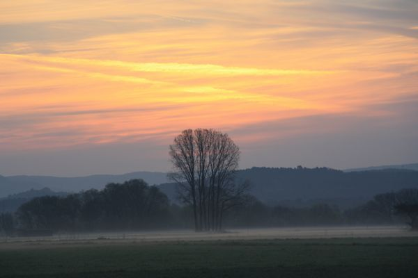 Sonnenaufgang im Flur