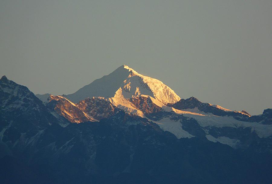 Sonnenaufgang im Himalaya