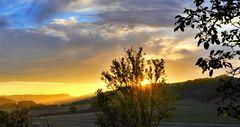 Sonnenaufgang im Kochertal