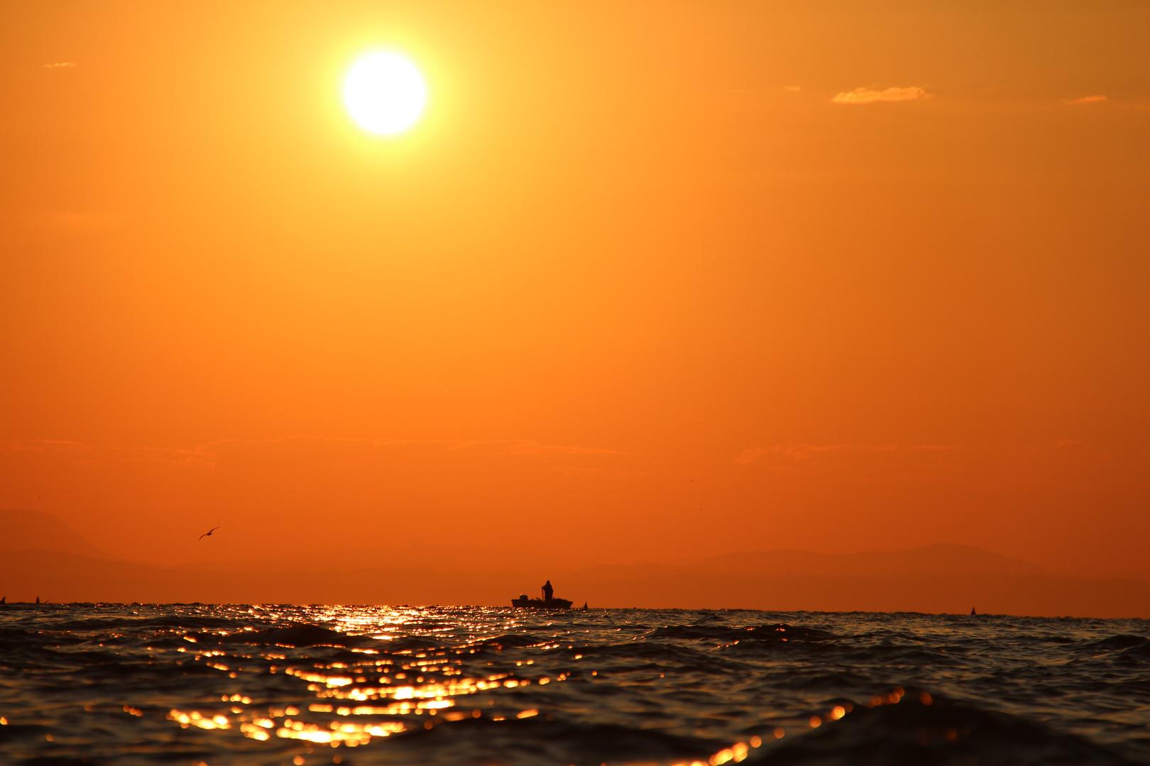 Sonnenaufgang im LIGNANO