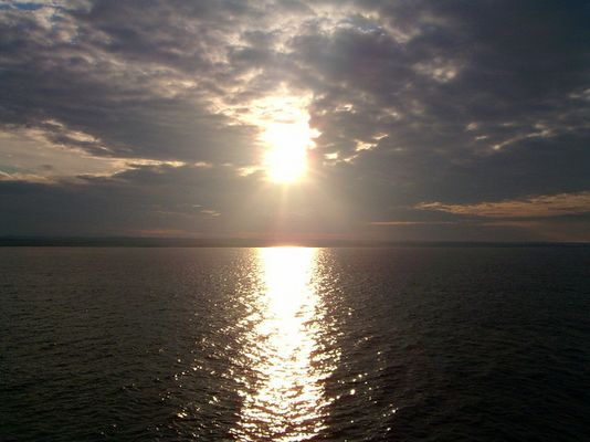 Sonnenaufgang im Mittelmeer