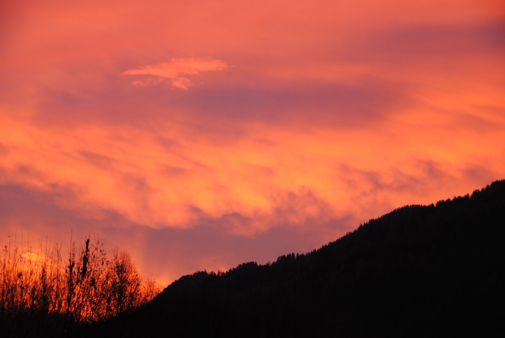 Sonnenaufgang im Murtal