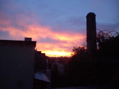 Sonnenaufgang im Osten