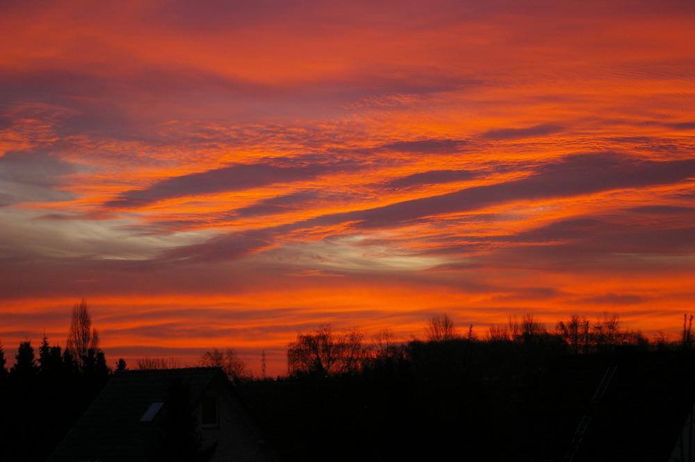 Sonnenaufgang im Ruhrpott