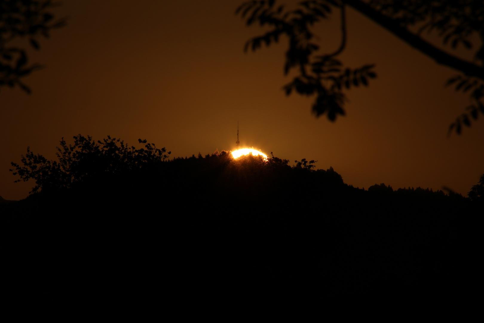 Sonnenaufgang im September