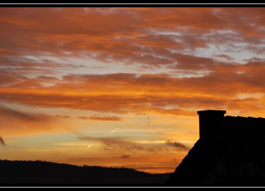 Sonnenaufgang im Spessart