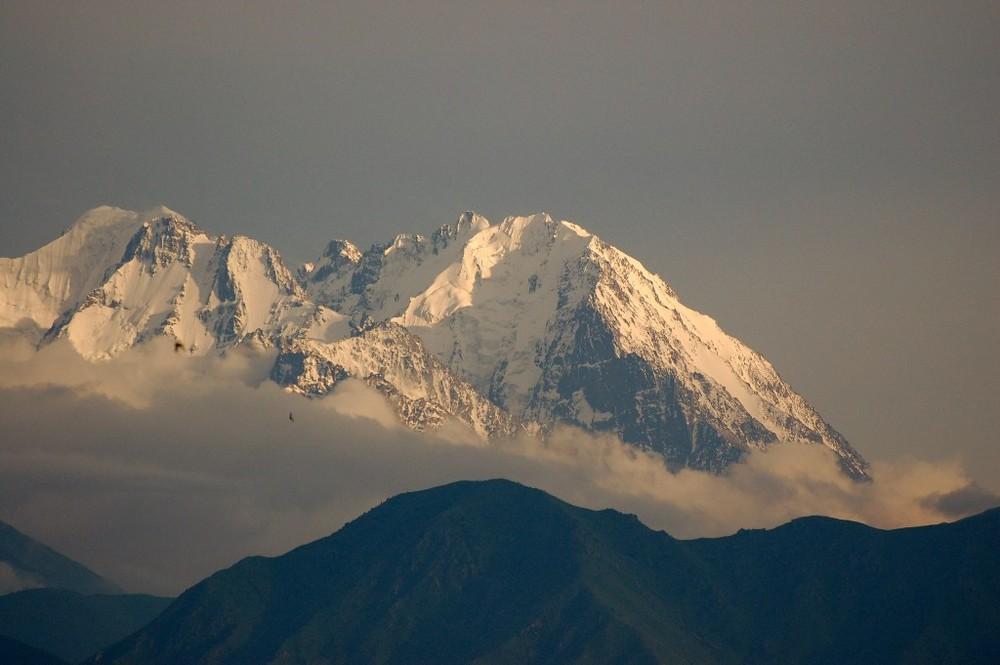 Sonnenaufgang im Tienschan 3