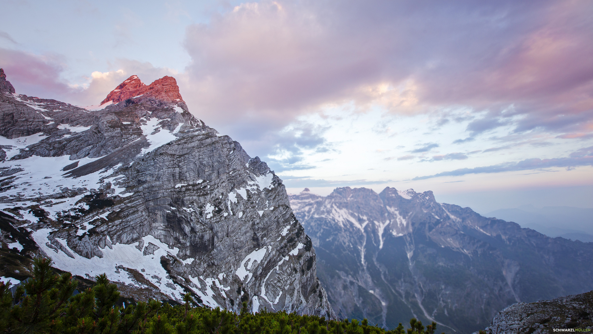 Sonnenaufgang im Toten Gebirge