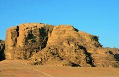 Sonnenaufgang im Wadi Rum