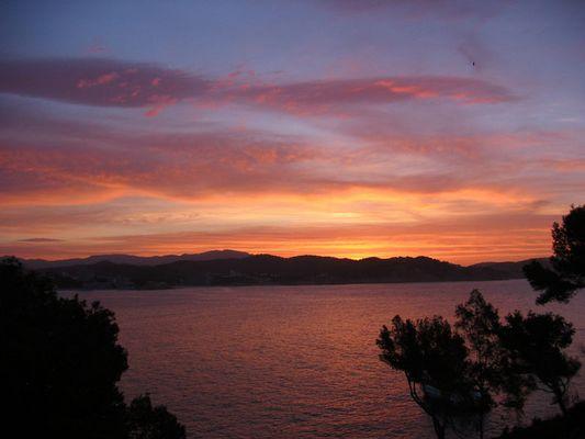 Sonnenaufgang im wahren Mallorca