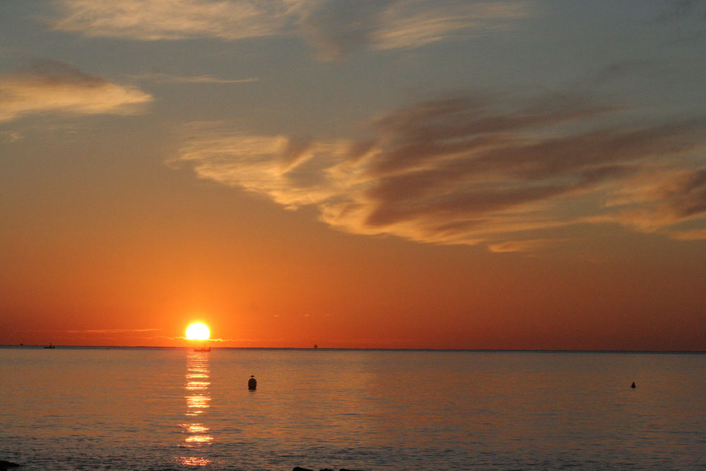 Sonnenaufgang in Andalusien, Costa del Sol, Oktober 05