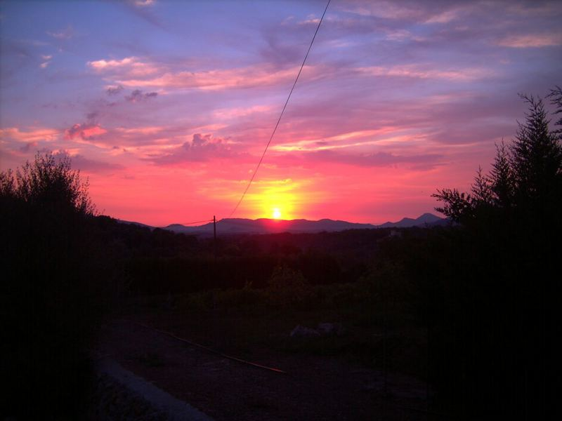 Sonnenaufgang in Arta