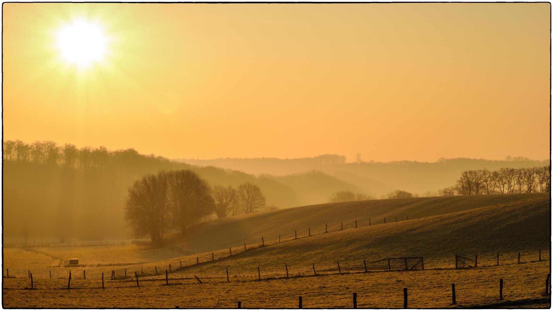 Sonnenaufgang in Baden