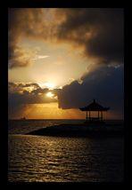 Sonnenaufgang in Bali