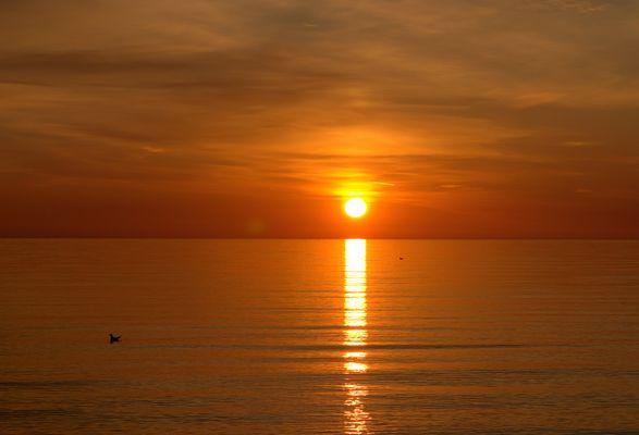 Sonnenaufgang in Binz