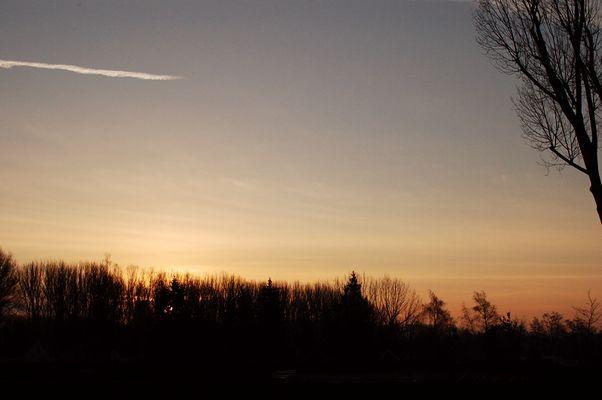 Sonnenaufgang in Boltenhagen
