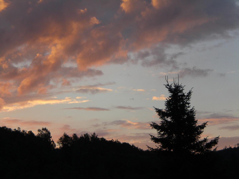Sonnenaufgang in Brauersdorf