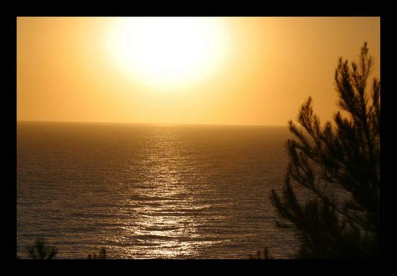 Sonnenaufgang in Cala Mandia 2