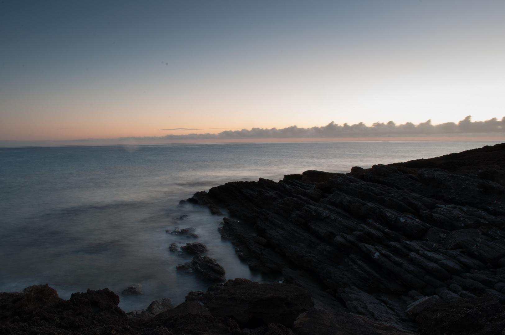 Sonnenaufgang in Cala Mesquida