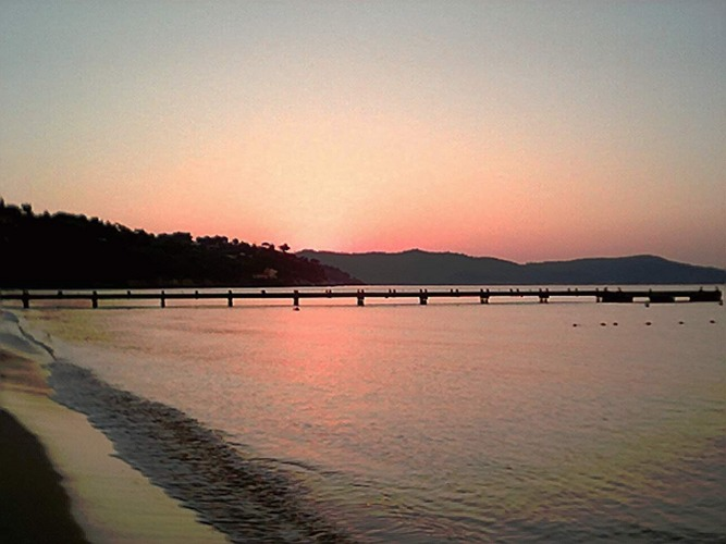 sonnenaufgang in Cavalaire s/m