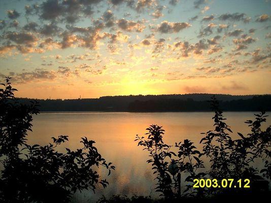 Sonnenaufgang in den Masuren