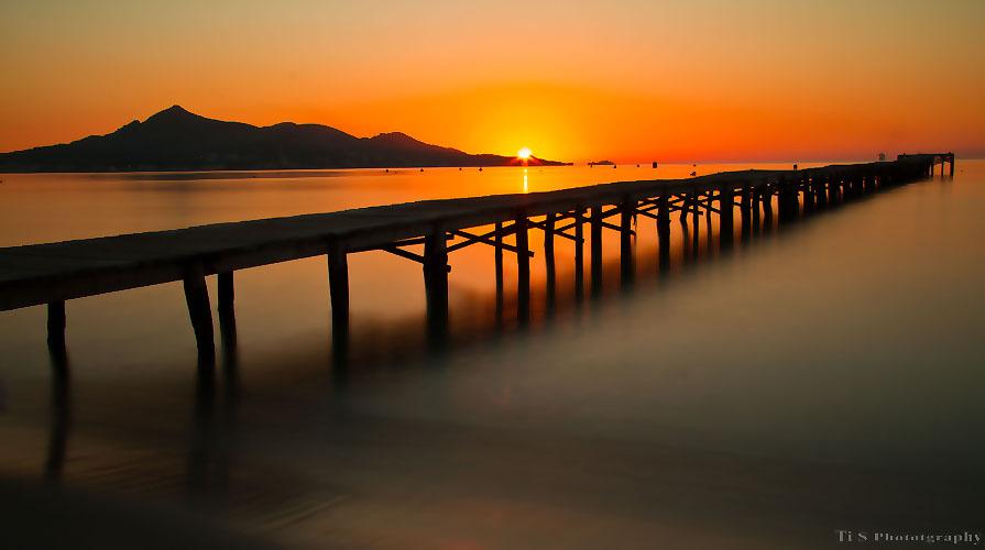 Sonnenaufgang in der Bucht von Alcudia