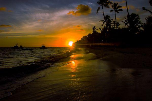 Sonnenaufgang in der DomRep