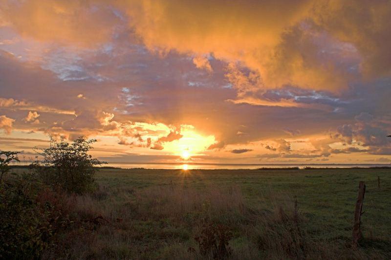 Sonnenaufgang in der Frühe