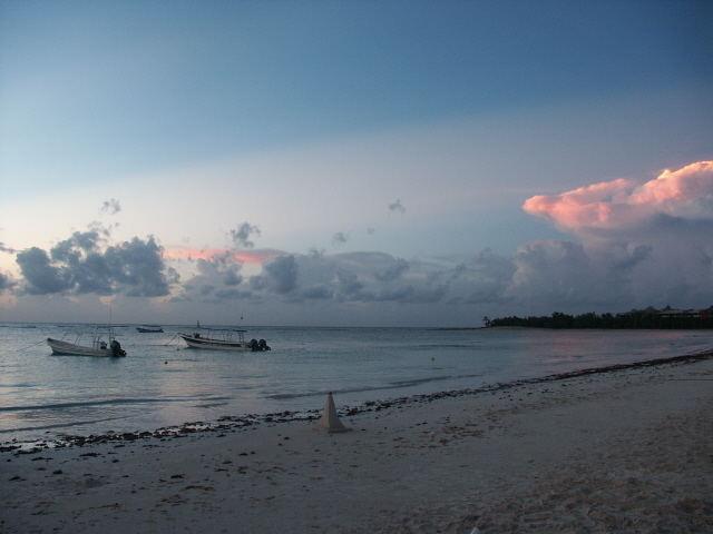 Sonnenaufgang in der Karibik/Mexico