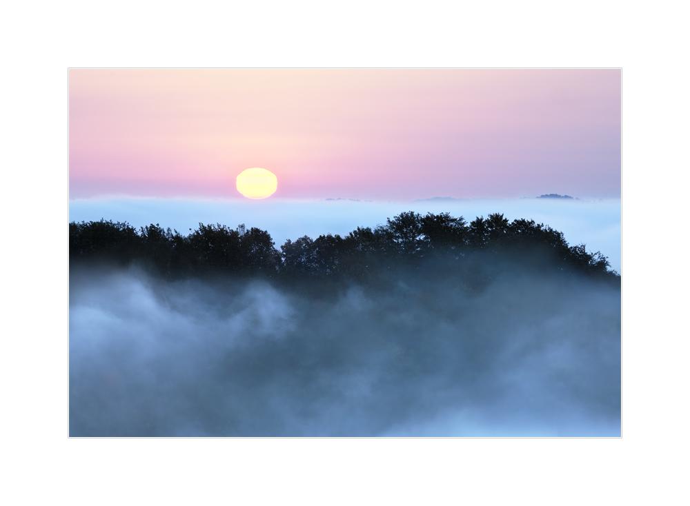 Sonnenaufgang in der Südsteiermark