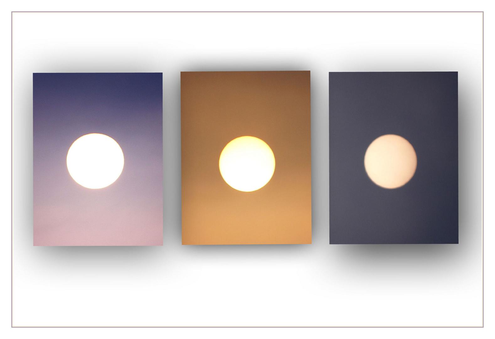 Sonnenaufgang in drei Minuten