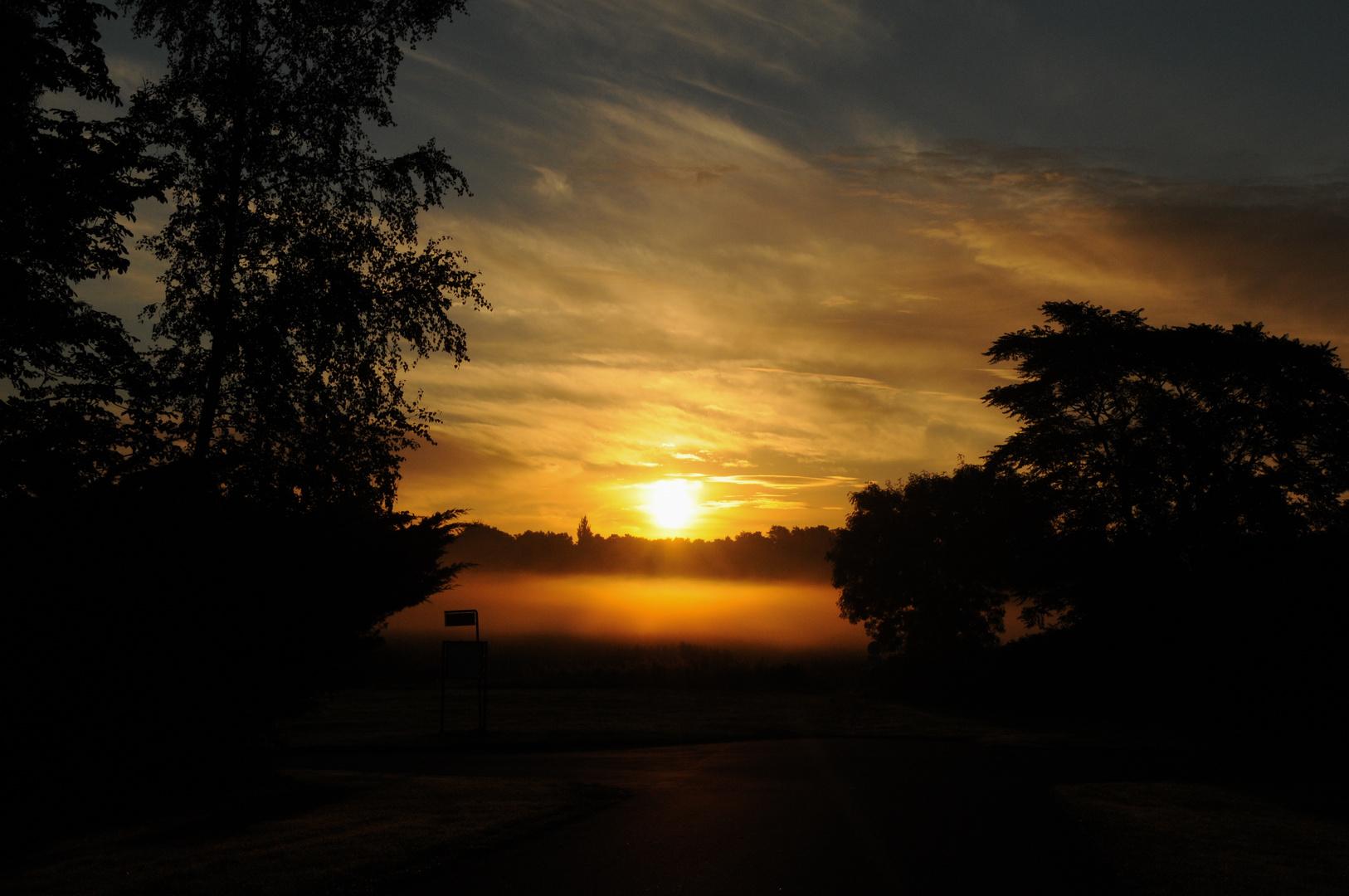 Sonnenaufgang in Dronningmölle 2