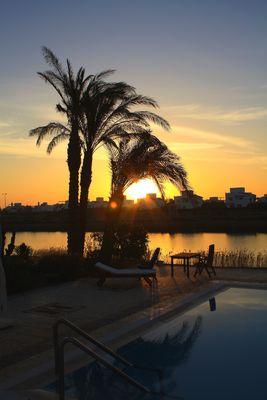 Sonnenaufgang in El-Gouna