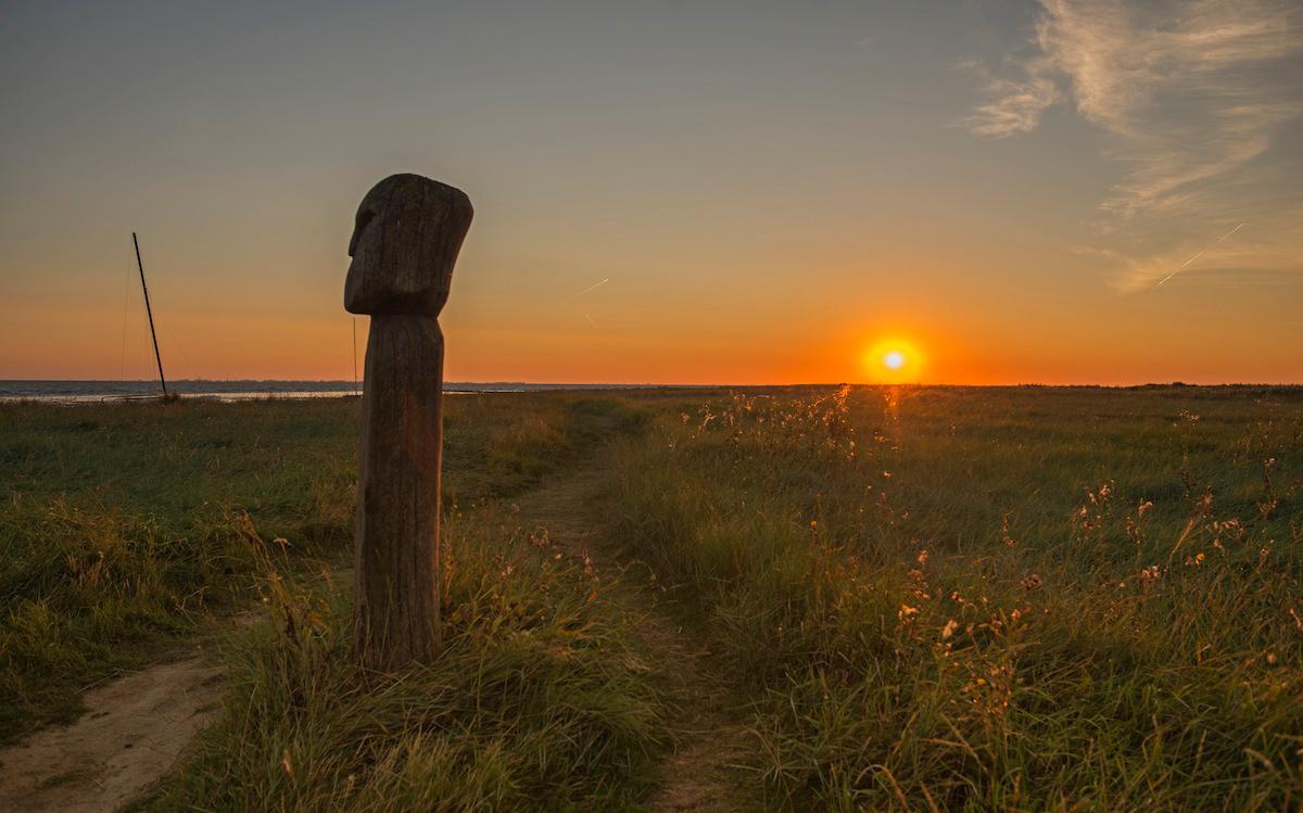 Sonnenaufgang in Friesland
