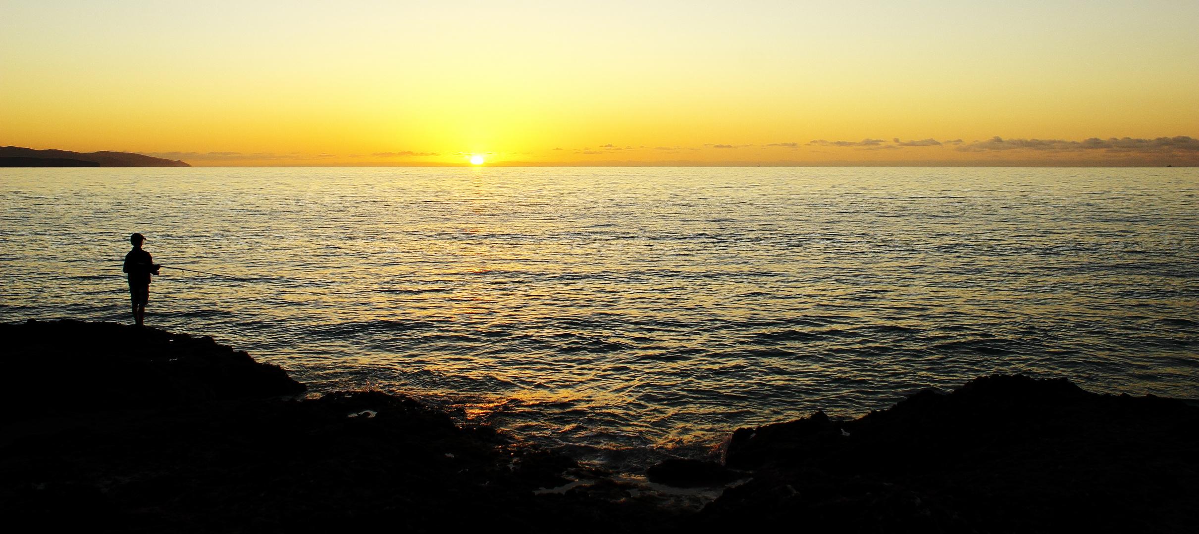 Sonnenaufgang in Fuerteventura