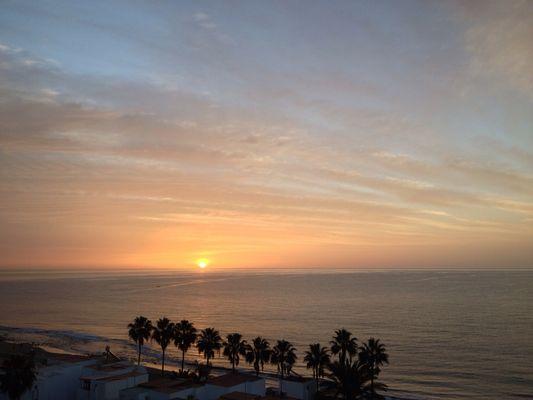 Sonnenaufgang in Gran Canaria 2012