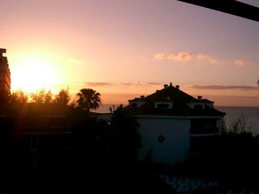 Sonnenaufgang in Gran Canaria