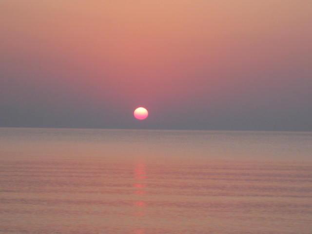 Sonnenaufgang in Griechenland
