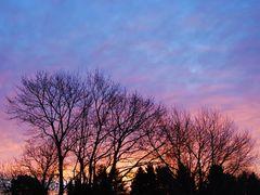 Sonnenaufgang in Herzogenrath