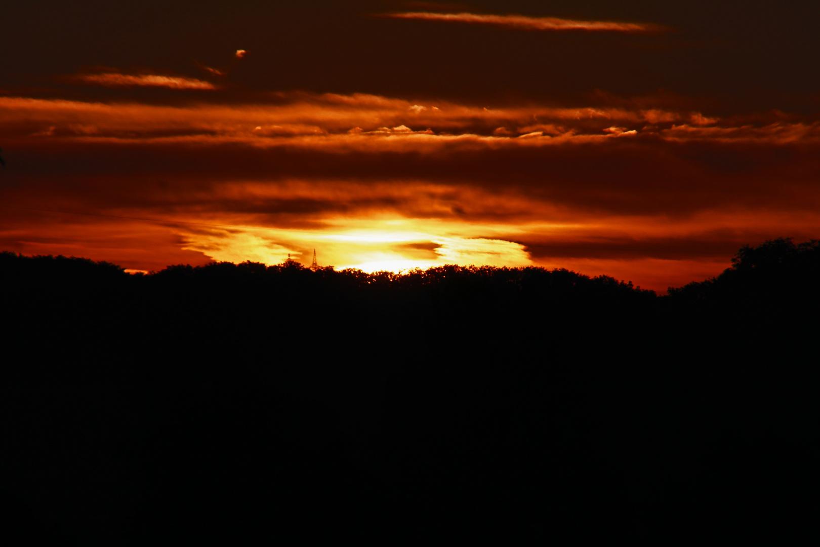 Sonnenaufgang in Hohenlohe