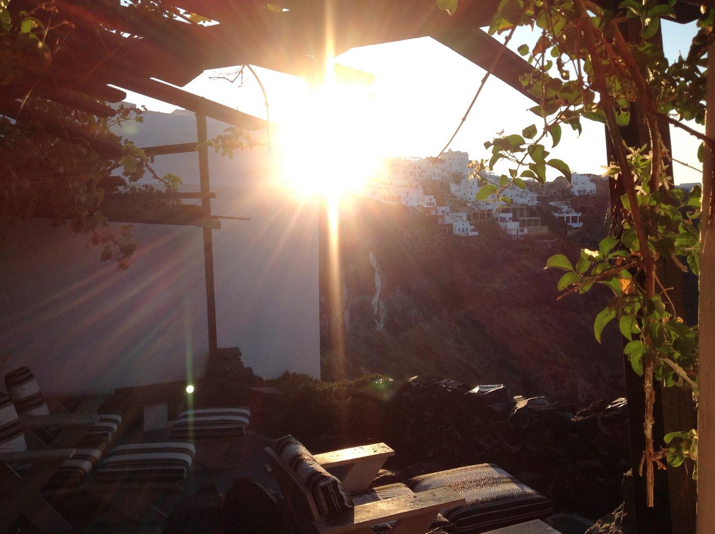 Sonnenaufgang in Honymoon-Paradies