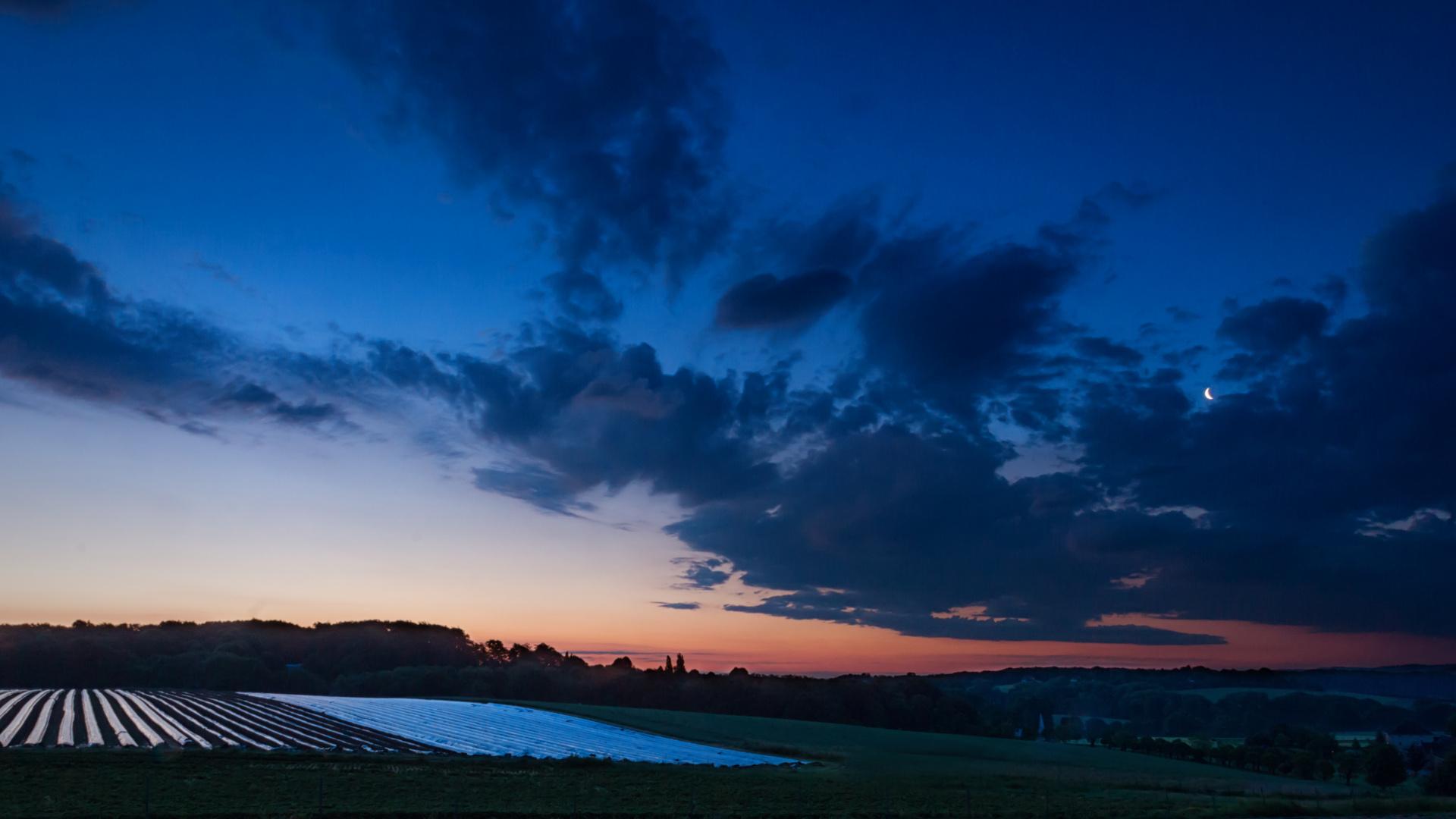 Sonnenaufgang in Kettwig